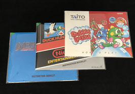 Nintendo Entertainment System / NES - Instruction Manual Sleeves