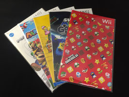Nintendo Wii / Wii U - Instruction Manual Sleeves