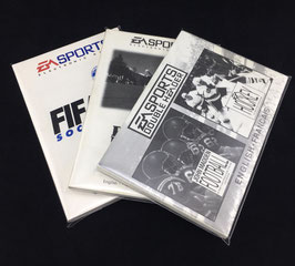 Sega Mega Drive EA Sports - Instruction Manual Sleeves