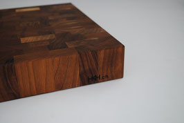 Küchenblock Nussbaum 40 x 40cm