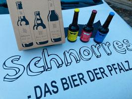 Schnorres Probierbox mit 3 Bieren & kostenlosen Versand