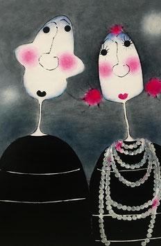 """""""Hedda hat sich eine neue Perlenkette gegönnt"""""""