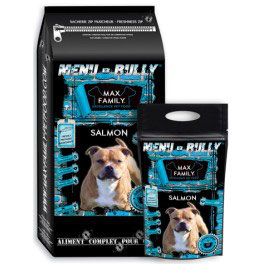 Salmon - Menu BULLY MAX FAMILY