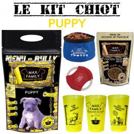 Kit chiot PUPPY - BULLY MAX By Max Family Pet Food