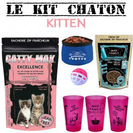 Kit CHATON - CATTY MAX By Max Family Pet Food