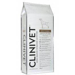 Chien actif Energy Croquette CLINIVET (15kg)