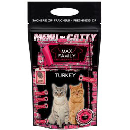 CATTY MAX Turkey 100% Sans Céréales