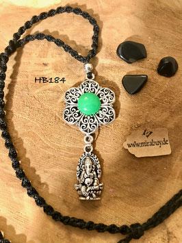 "Halskette ""Ganesha Flower"" HB184"