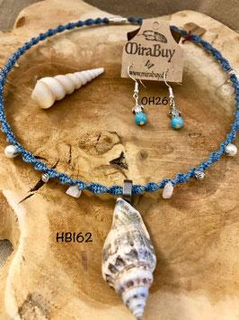 """Halskette """"Meeresrauschen"""" HB162"""