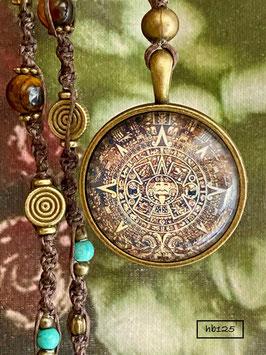 """Halskette   """"Azteken Sonnenstein"""""""