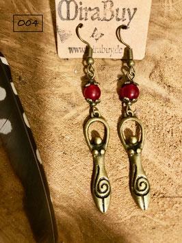"Bronze-Ohrhänger  ""Aiyana"" O04"