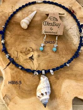 """Halskette """"Meeresrauschen"""" HB163"""