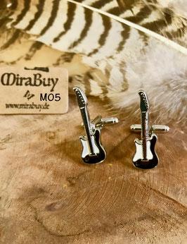 """Manschettenknöpfe """"Guitar"""" M05"""