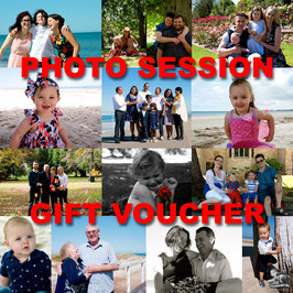 Family Photo Session Gift Voucher
