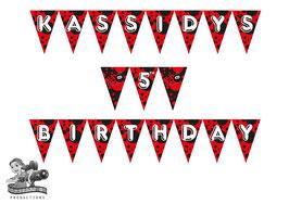 Bunting Banner: Ladybug