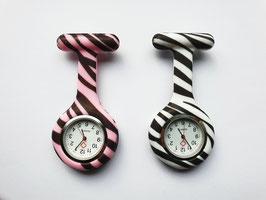 Verpleegkundig horloge zebra