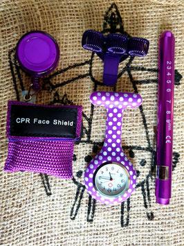 Sinterklaas cadeautje sweet purple