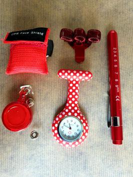 Cadeautje verpleegkundige lovely red