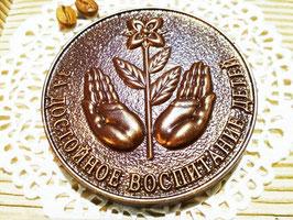 """Шоколадная медаль""""За достойное воспитание детей"""""""