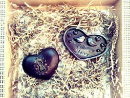 """Шоколад """"Два сердца"""", 60г"""