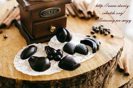 Шоколадный набор «Ягоды-фрукты» с прибайкальской клюквой, 7 конфет