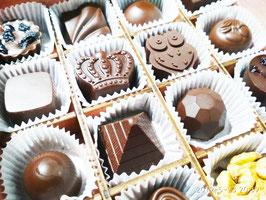 Коробка шоколадных конфет