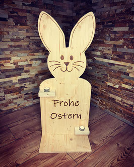 Holz Osterhase mit Beleuchtung