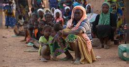 Chéry Support voor vrouwen op de vlucht in Burkina Faso.