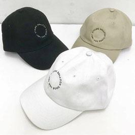 ツイル ロゴ刺繍 CAP