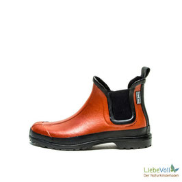 Gummistiefelette Victoria backstein, von Grand Step Shoes made in EU
