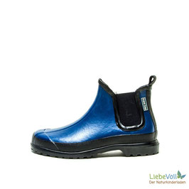 Gummistiefelette Victoria blau, von Grand Step Shoes made in EU