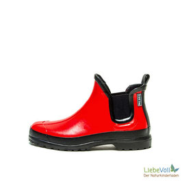 Gummistiefelette Victoria rot, von Grand Step Shoes made in EU