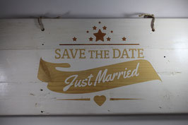 Save The Date - Just Married