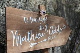 """Pancarte Palette """"Le Mariage de """""""