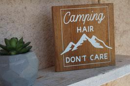 Panneau carré Camping