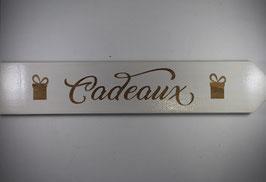 Pancarte Cadeaux