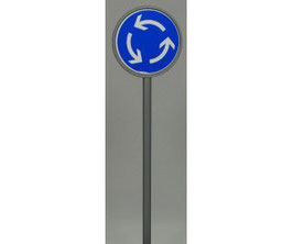 Verkehrszeichen 215 Kreisverkehr