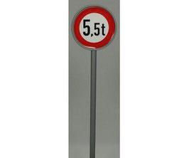 Verkehrszeichen 262 Verbot für Fahrzeuge über 5,5t