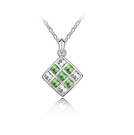 Collier Losange Vert (réf : VT45)