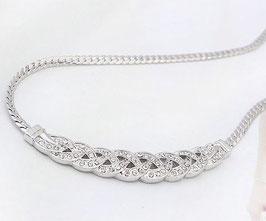 Collier Infinity Cristal  (réf : 1325CI)