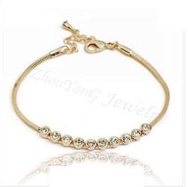 Bracelet Plaqué Or Rose (réf : 2400BR)