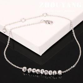 Bracelet Cheville Couleur Agent (réf : CVZ1)