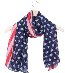 Foulard USA Country (réf : 542BL)