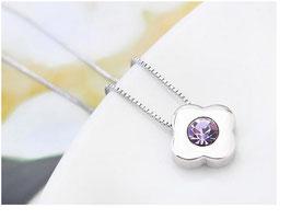 Collier Lina - Cristal Violet