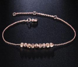 Bracelet Cheville Couleur Dorée (réf : CVZ)