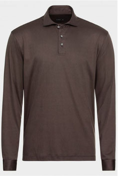 Van Laack Jersey Polo Taupe