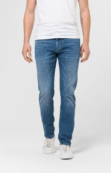 MODERN FIT JEANS MITCH IN MID BLUE DENIM