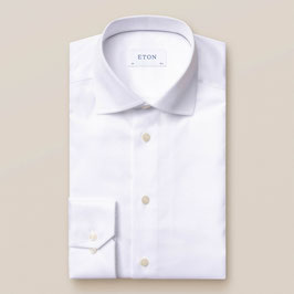 ETON WHITE SHIRT - SIGNATURE TWILL