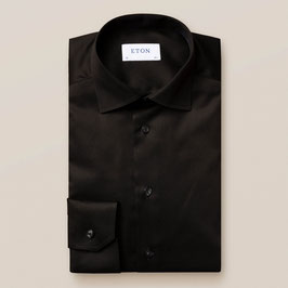 ETON Black shirt - signature twill