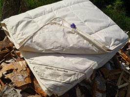 Kinder Bettdecke 100%ALPAKA/Lama 100x135cm Qualitäts-Naturbett